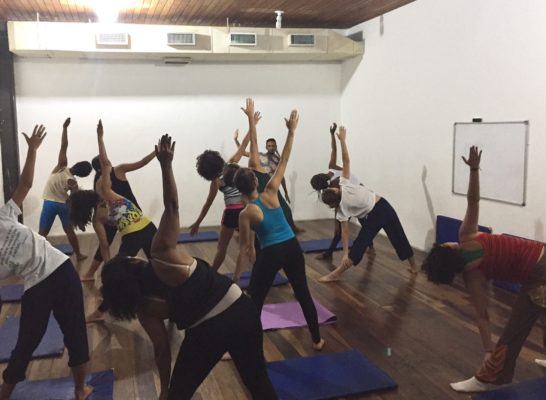 Yoga auf Brasilianisch