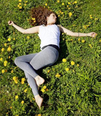 Pendelübungen, um den Körper besser wahrzunehmen