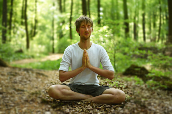 Blind Yoga lehrt neues Sehen