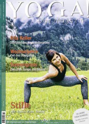 Die Oktober-Ausgabe ist ab Freitag am Kiosk erhältlich