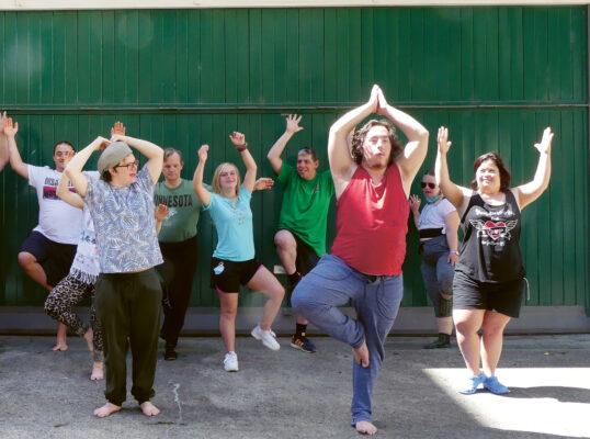 Yoga für Menschen mit einem Handicap